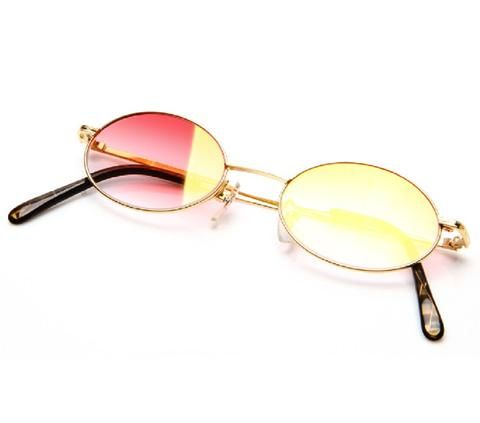 59c5eab0ecb Paolo Gucci 7412 H1N1 21k Gold Plated Flash Gold Special Edition - Vintage  Frames Company