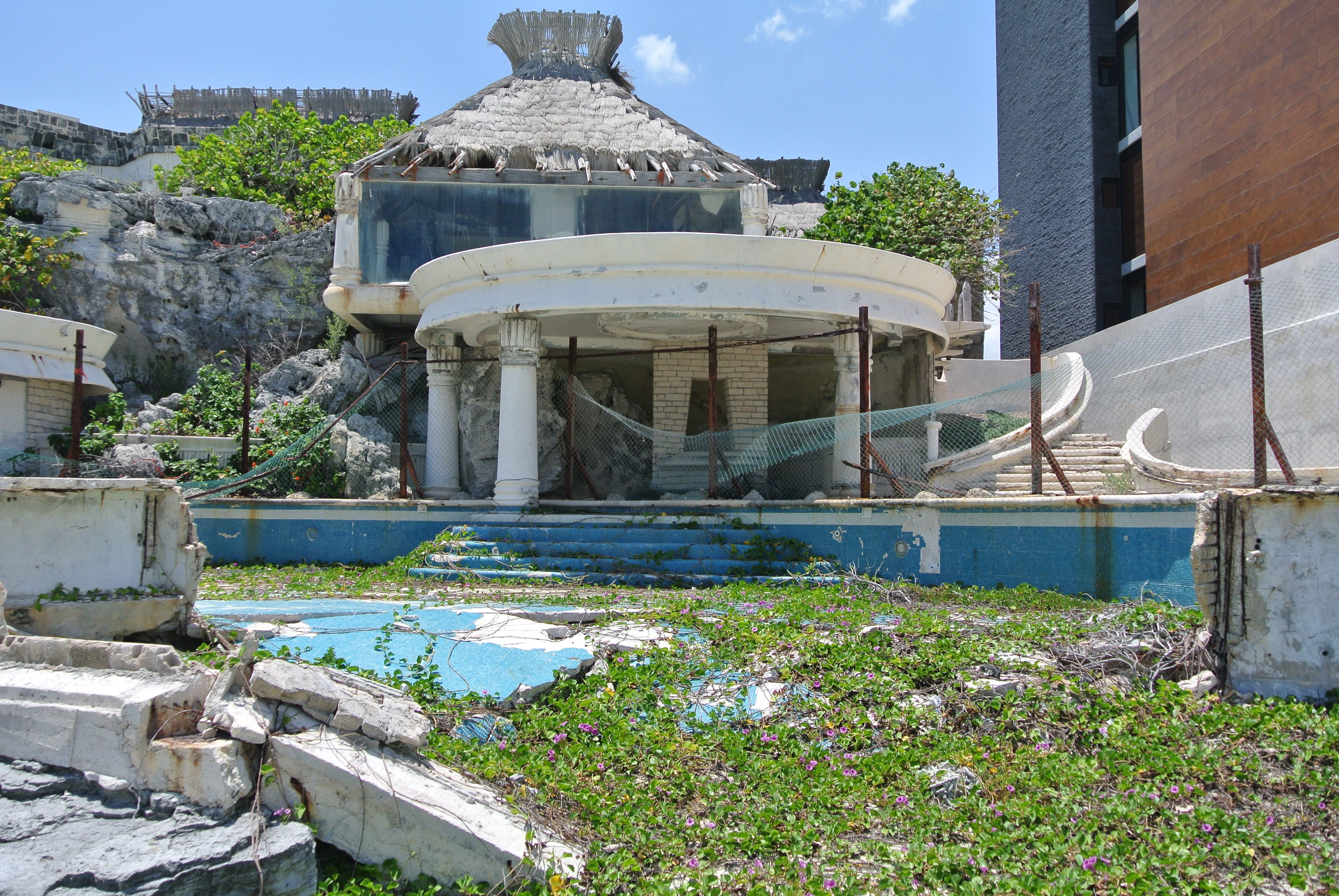 Abandoned Hotel Cancun Mexico