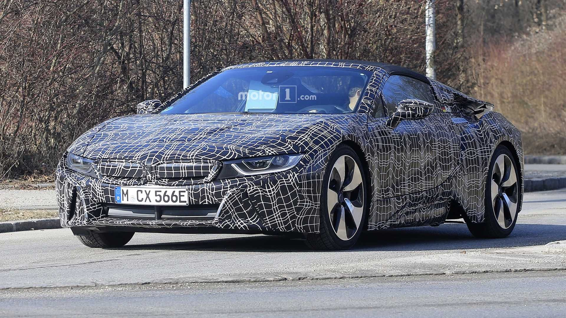 The Bmw I8 Is A Plug In Hybrid Sports Car Developed By Bmw The I8