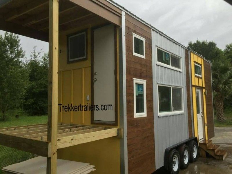Trekker Trailers Emily S Tiny Mansion Tiny House