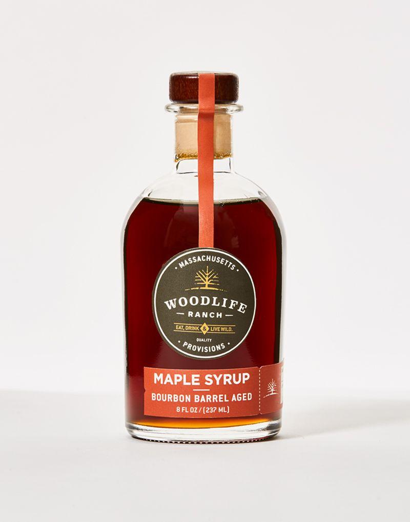 Wlr Maple Syrup Bourbon Barrel Aged 8 Fl Oz In 2020 Bourbon Barrel Bourbon Maple Syrup