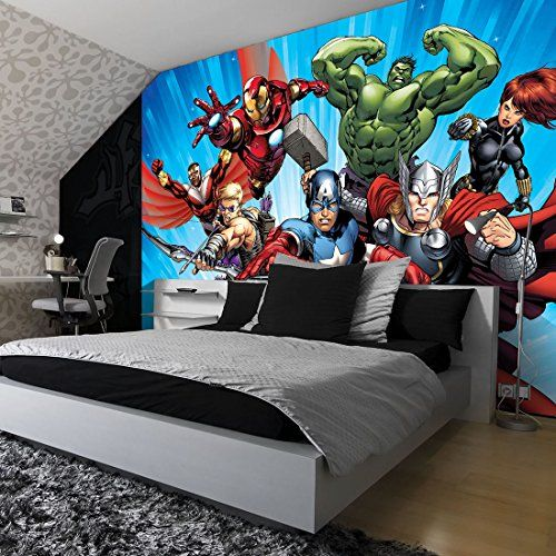 Best Marvel Avengers Assemble 2 Comic Wallpaper Mural Want 400 x 300