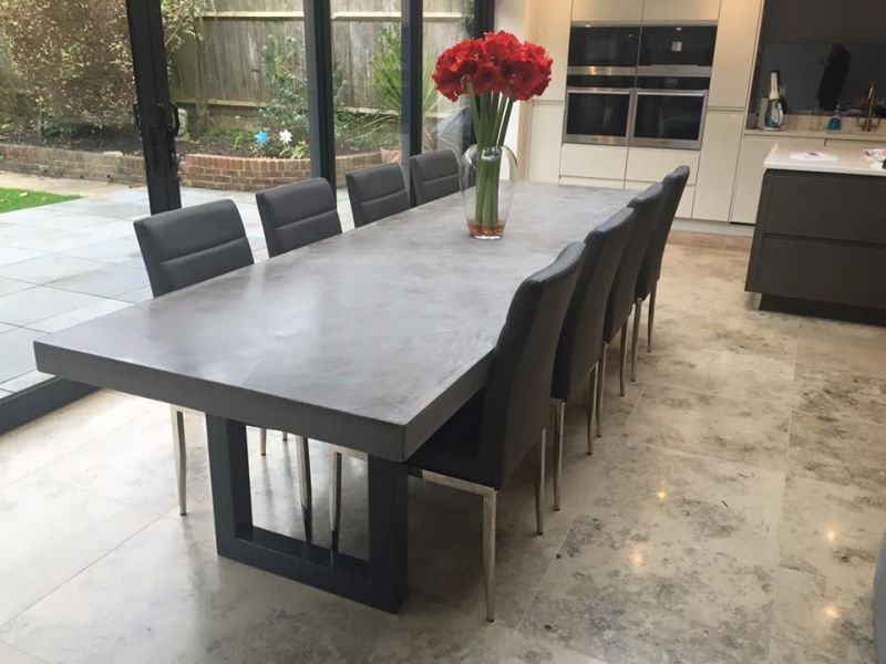 Gallery Bespoke Polished Concrete Tables by daniel