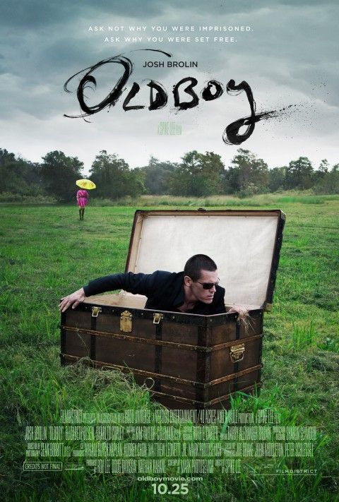 Old Boy By Spike Lee Trailer Filmes Cartaz Cafe E Livros
