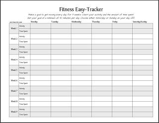 Workout Log Sheet  Free Printable Fitness EasyTracker