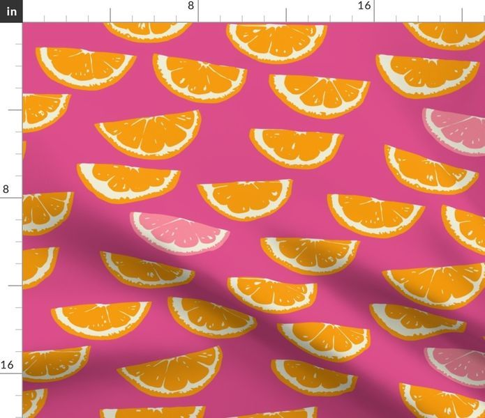 Summer Citrus - Spoonflower