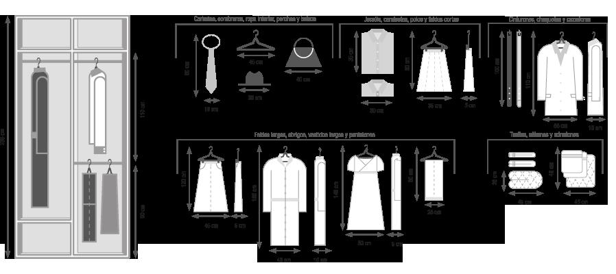 Armarios soluciones 4 ideas para el hogar pinterest for Closet a medida