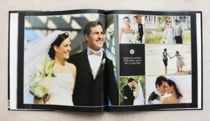 Shutterfly Wedding Album Samples