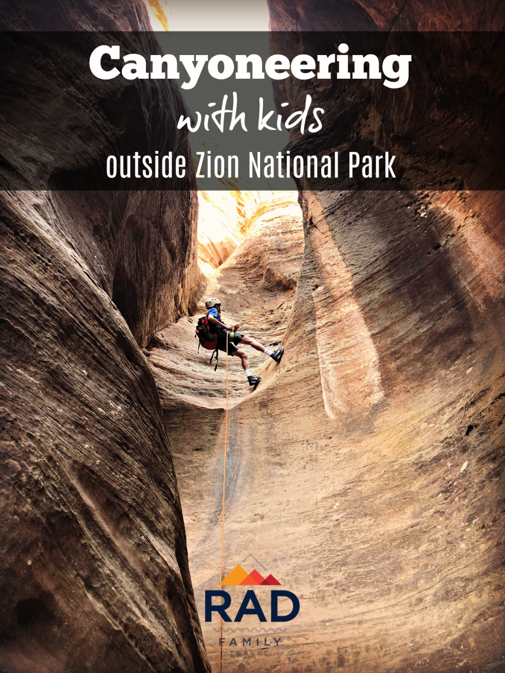 Zion canyoneering: explore a slot canyon in zion national park my utah parks