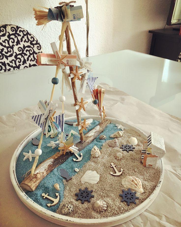 #Geldgeschenk #Hochzeitsgeschenk #Dekoidee #maritim – Blog