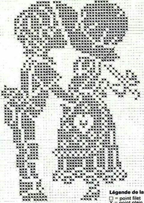 Pin de Ma Refugio en gancho   Pinterest   Punto de crochet, Patrones ...