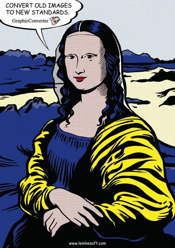 Populaire Mona Lisa et la publicité | Mona lisa and Matisse PK82