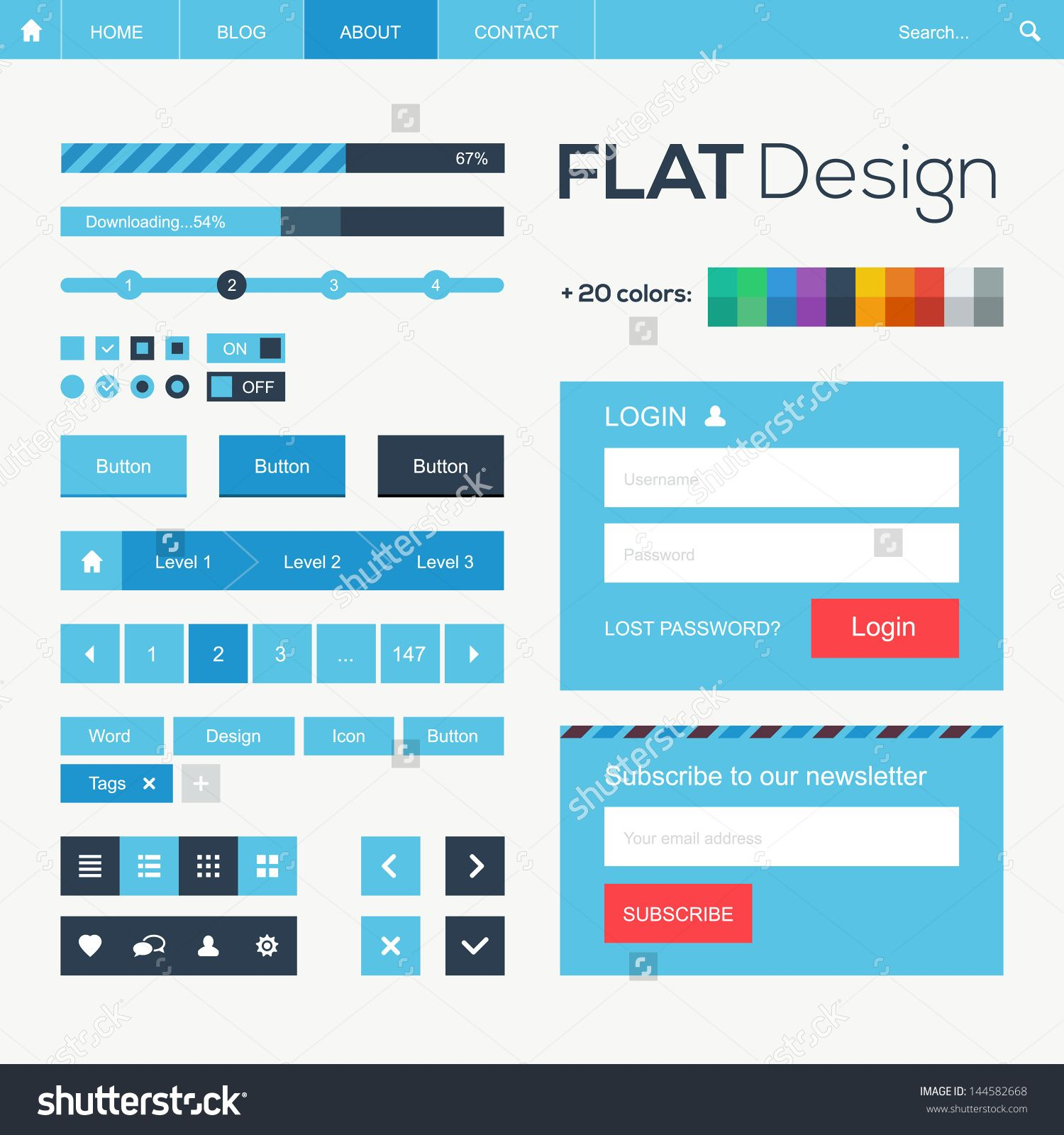 Google Website Templates Flat Website Css  Pesquisa Google  Web Design  Pinterest