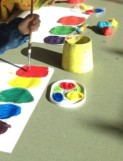 you clever monkey: A lesson in colour mixing
