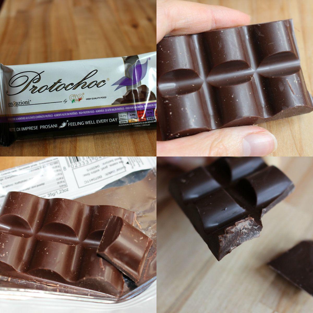Protochoc chocolat prot in de la marque italienne ciao carb j 39 ai test aliments et for Marque de nourriture italienne