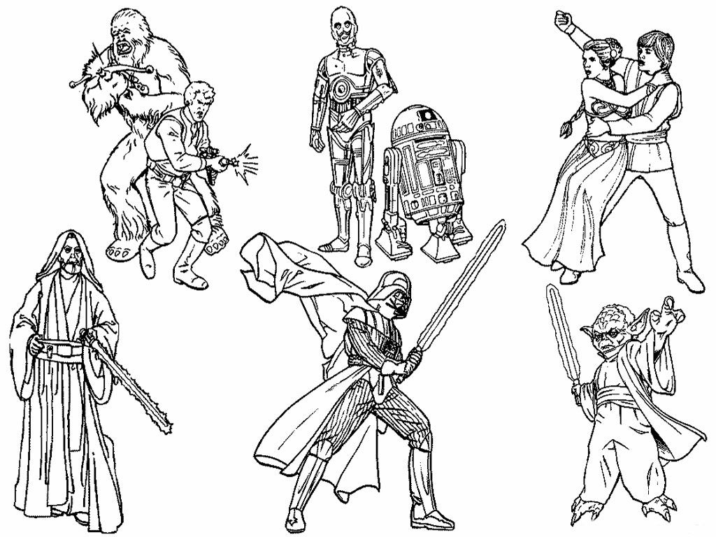 Star Wars Coloring Page Printable Coloring Pages Star