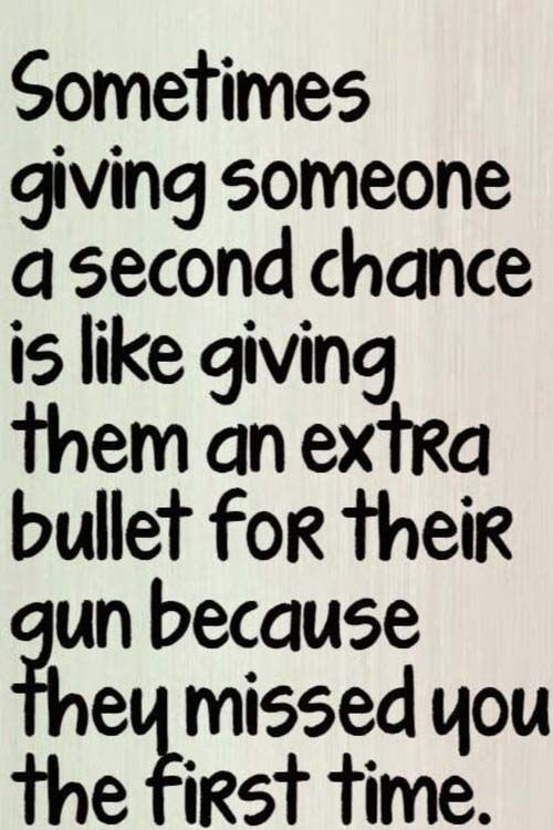 Sometimes Giving Someone A Second Chance Words Quotes Life Quotes Wisdom Quotes