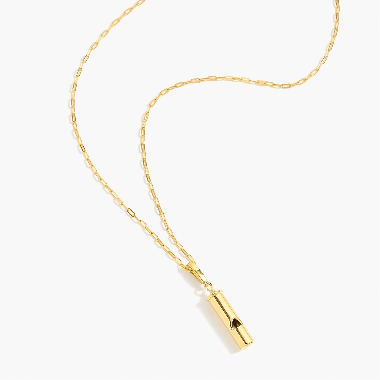 fa337e0d038 Demi-Fine 14K Gold-Plated Whistle Charm | Products | Gold Jewelry ...