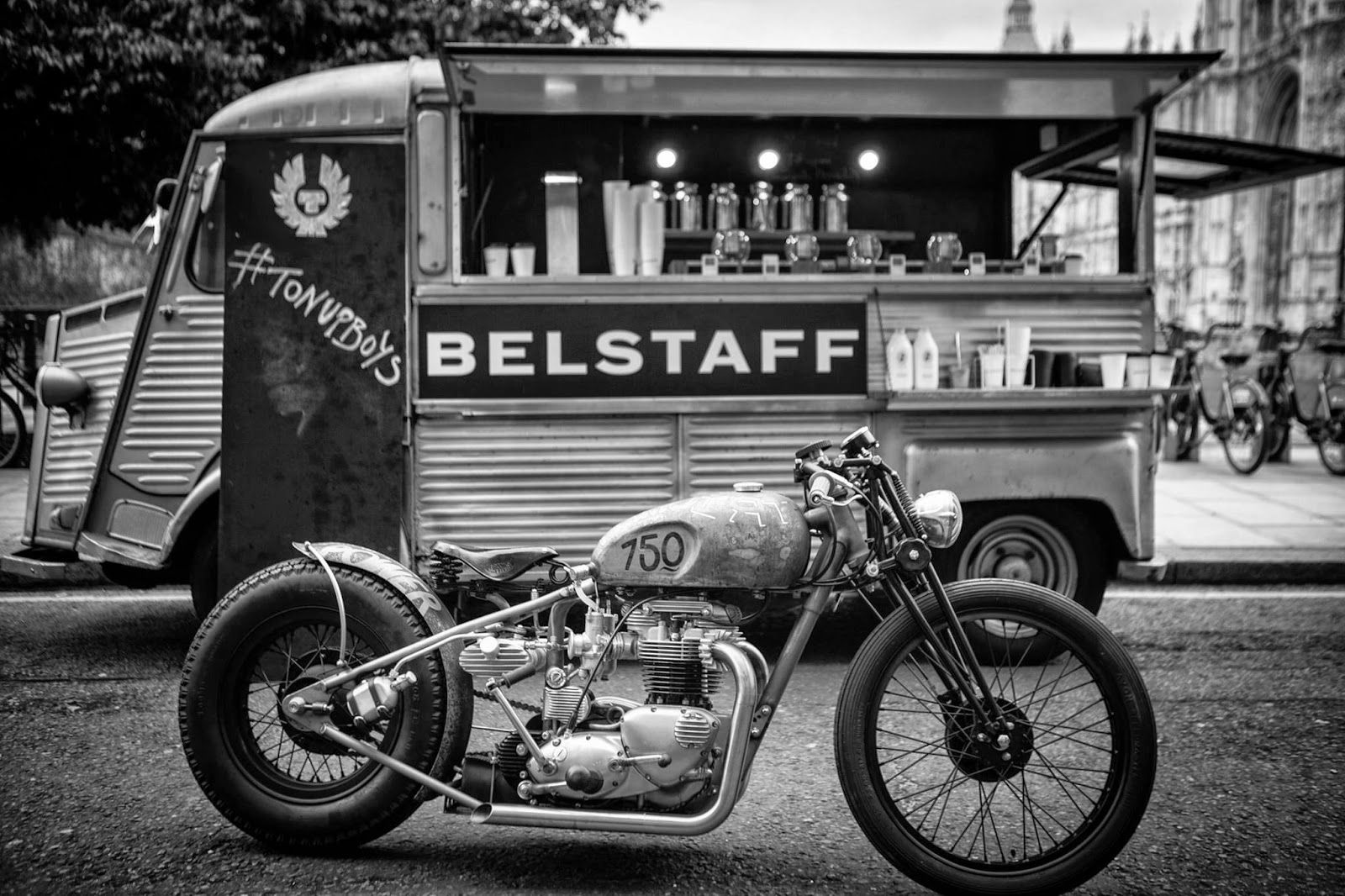 RocketGarage Cafe Racer: BELSTAFF COLLECTION: TON-UP BOYS