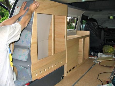 If You Want To Build Your Own Camper Van You Ll Need Some Diy Knowledge Tools Patience And A Lot Of Sp Van Conversion Layout Homemade Camper Van Van Camping
