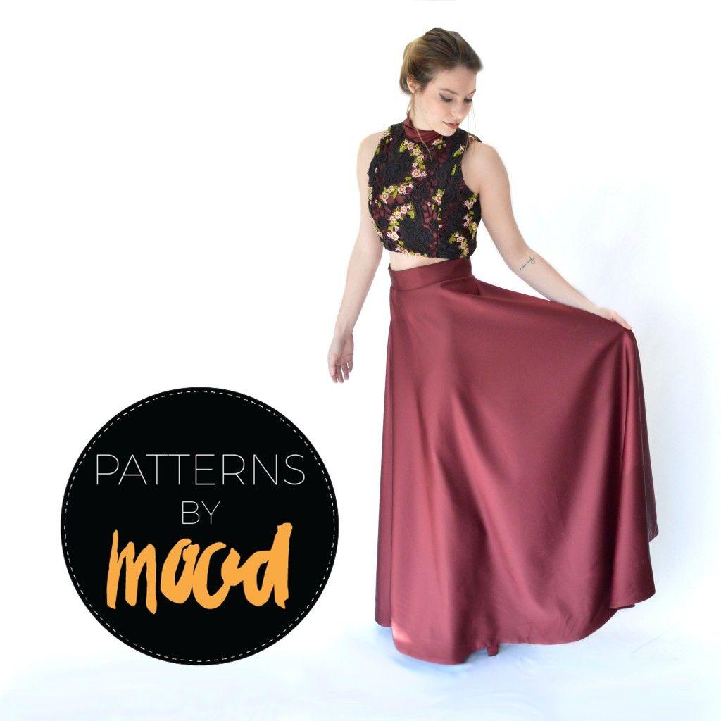 Mood DIY Free TwoPiece Prom Dress Pattern  MoodDIY