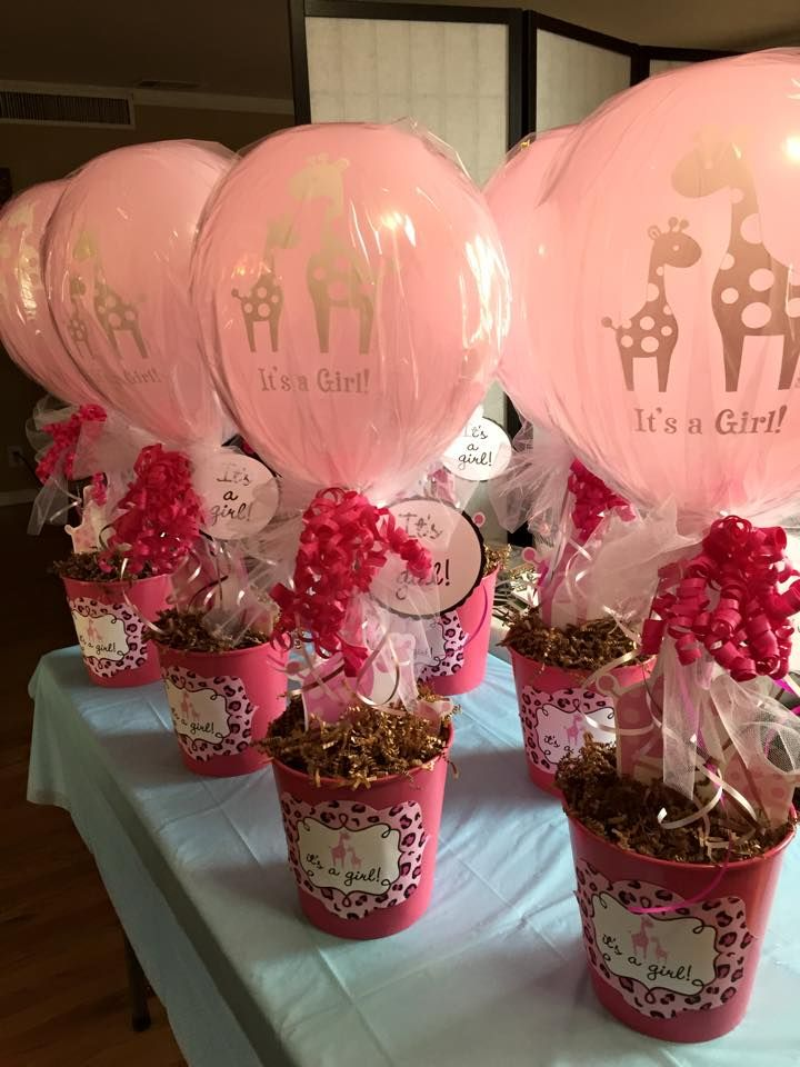 Giraffe Baby shower centerpieces | Party on a Budget ...