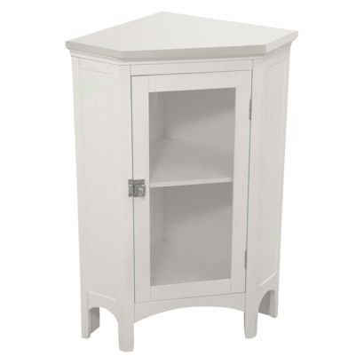 Madison Avenue Bath Furniture Collection Corner Storage Bathroom Corner Cabinet Elegant Home Fashions