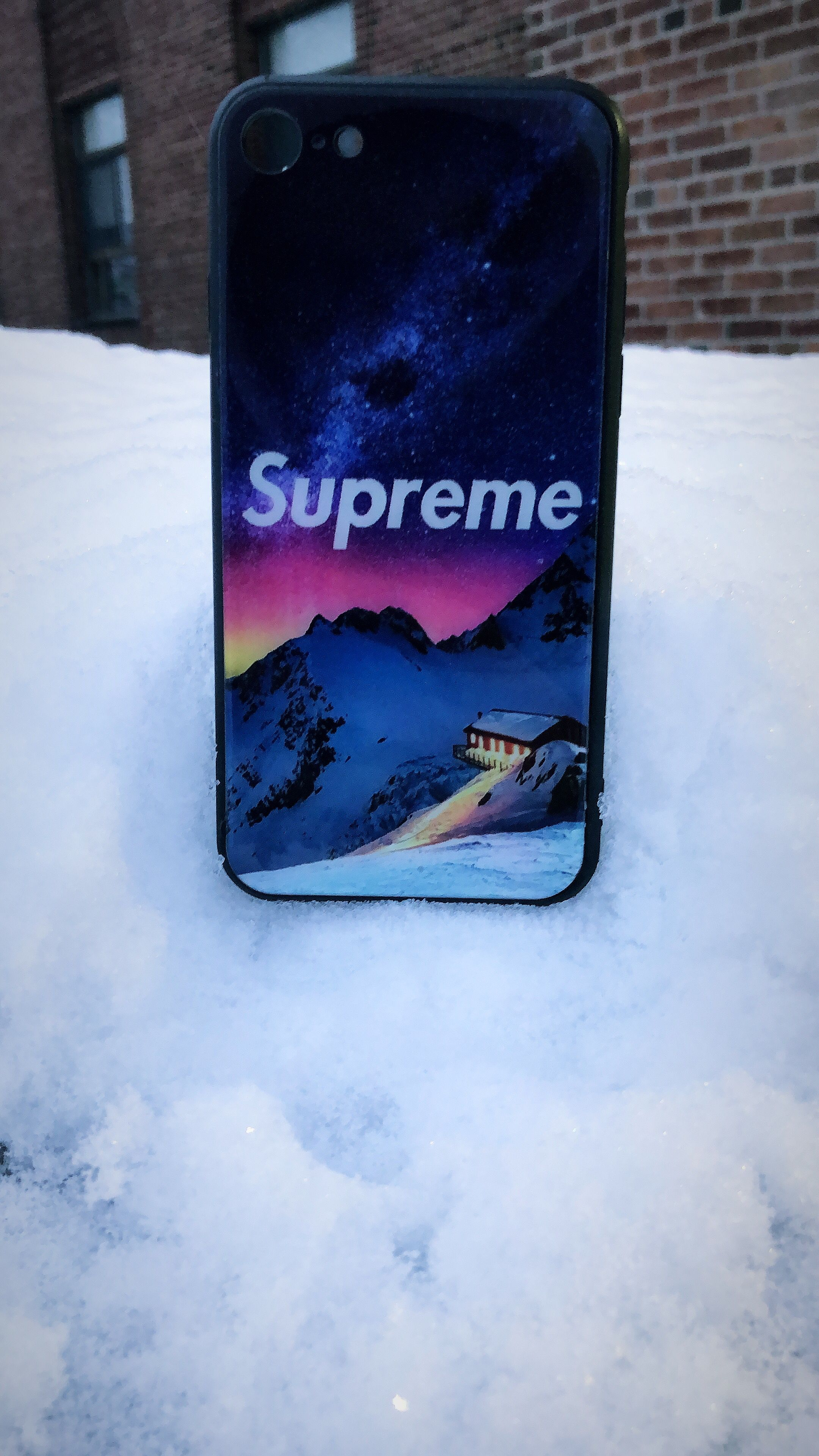 Supreme Winter Snow Iphone Case Case Iphone Cases Supreme Wallpaper