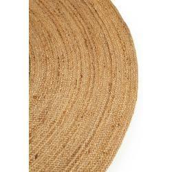 Photo of benuta Naturals Jute Rug Jutta Light Brown ø 200 cm round – Modern carpet for living room benuta.de