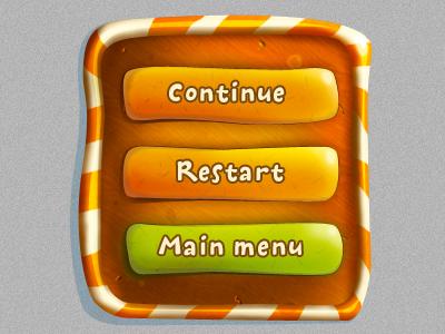 Game Interface Design - for TerraZolotaria studio