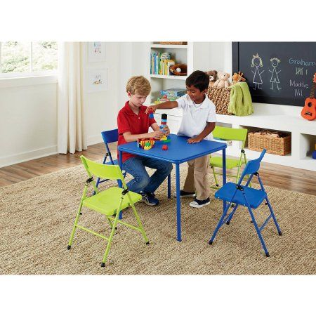 Pleasing Cosco 5 Piece Kids Table And Chair Set Multiple Colors Forskolin Free Trial Chair Design Images Forskolin Free Trialorg