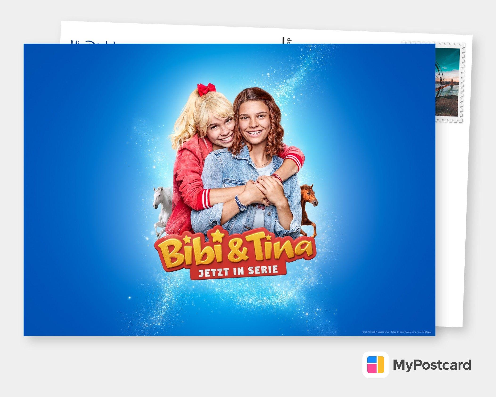Bibi Tina Jetzt In Serie Film Musik Karten Echte Postkarten Online Versenden Filme Postkarten Karten