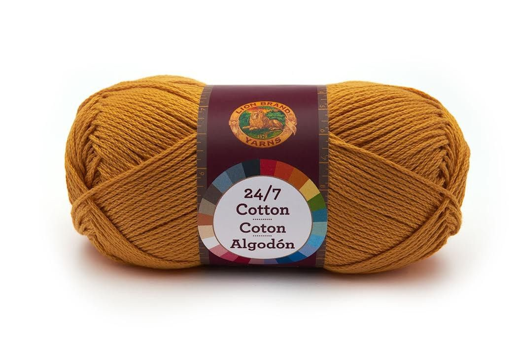 24/7 Cotton® Yarn - NEW YARN ~ comes in 24 colours ~ 100% mercerized ...