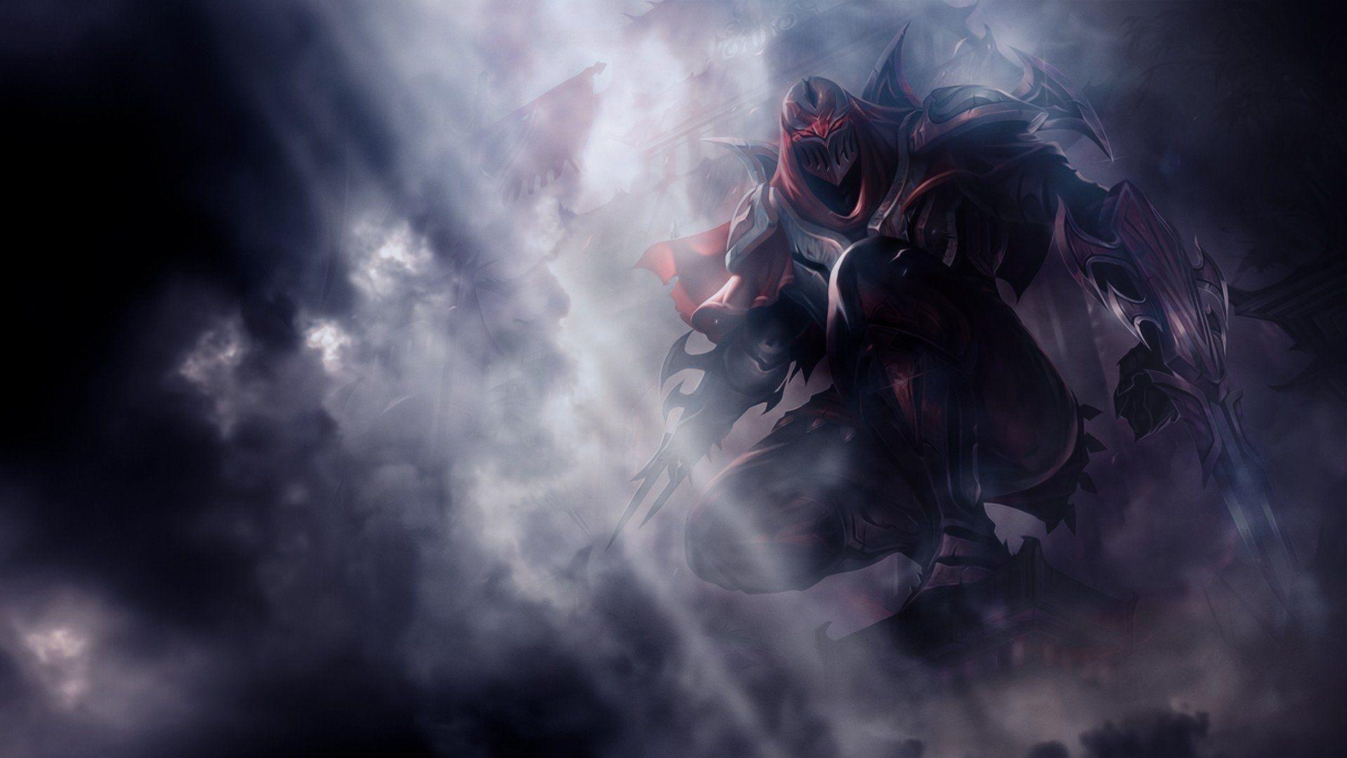 44 Zed League Of Legends Hd Wallpapers Hintergründe