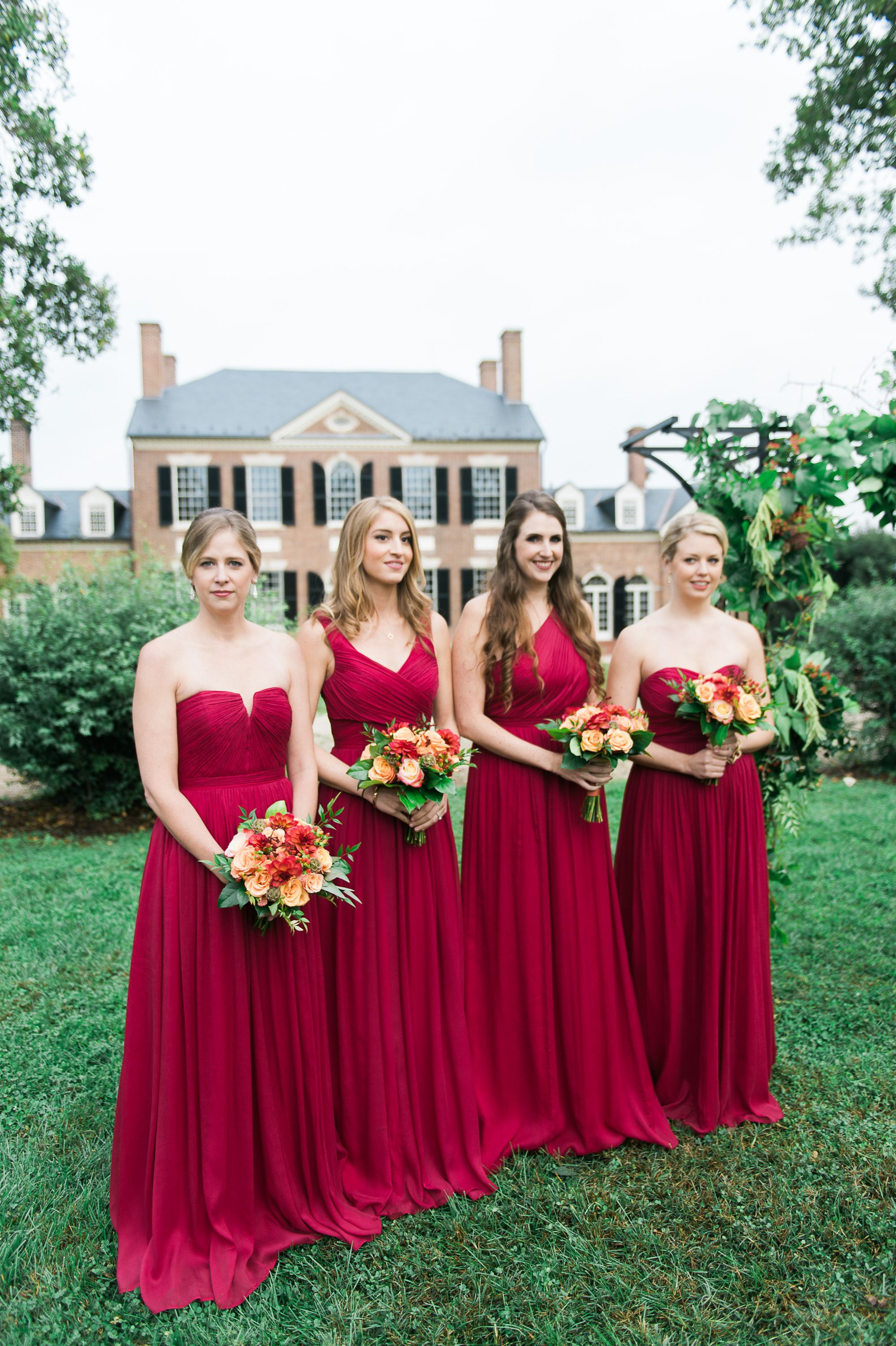 Jew floor length burgundy bridesmaid dresses bridesmaids jew floor length burgundy bridesmaid dresses ombrellifo Image collections