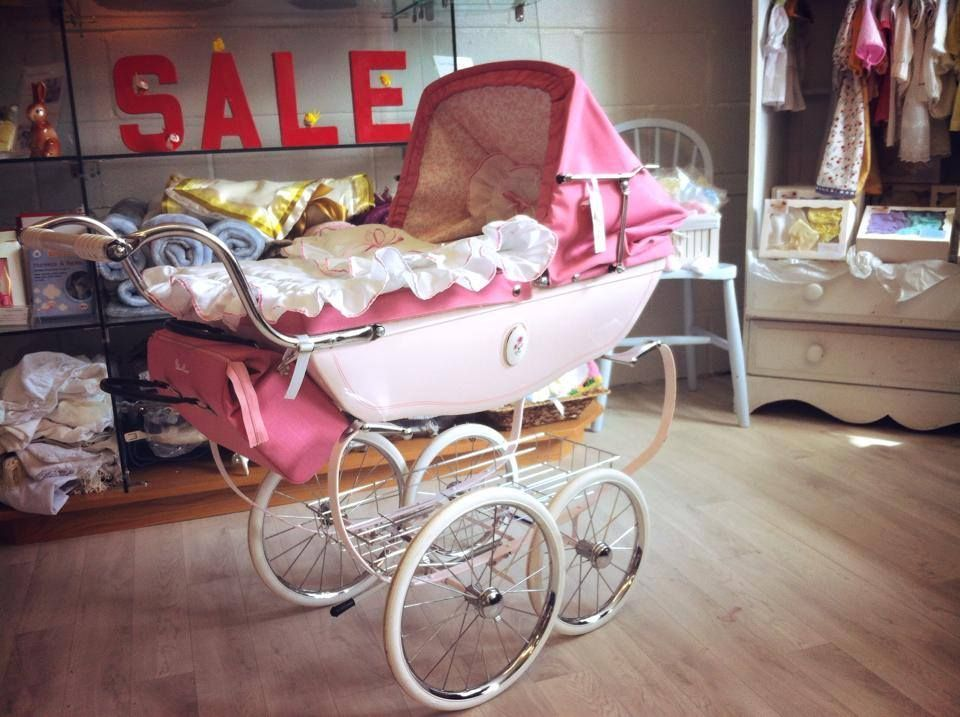 Silver Cross Cameo Dolls Pram In Princess Pink With