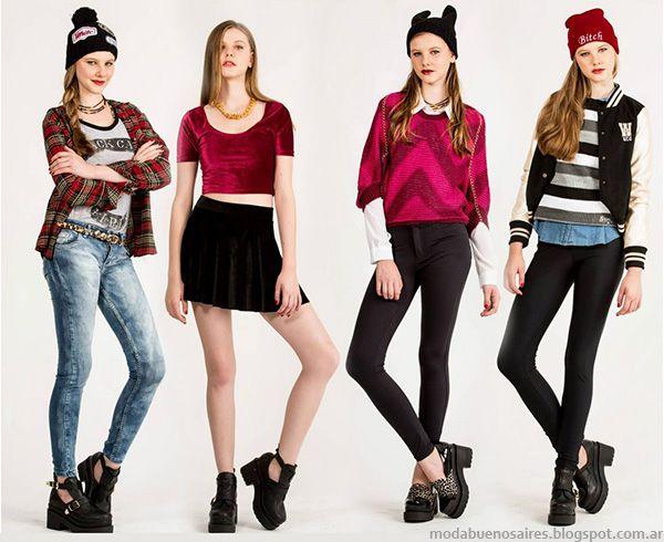 Looks de moda juvenil Scombro invierno 2014. | 2014 | Pinterest | Modas juveniles Juveniles y ...