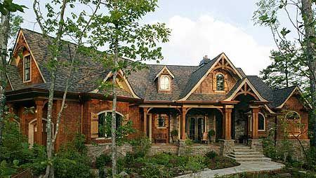 Plan 15651GE: Award-Winning Gable Roof Masterpiece   House ... on