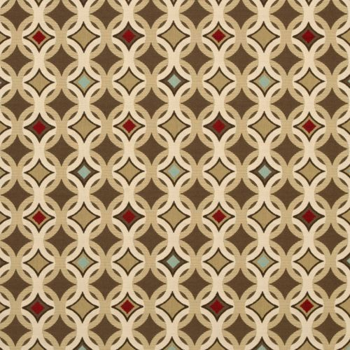 fabric by the yard sunbrella indoor outdoor fabric tango mink circle brown ebay