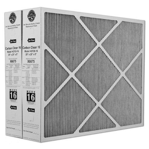 Lennox X6675 Carbon Clean 16 Merv 16 Filter 20 Inch X 25 Inch X 5
