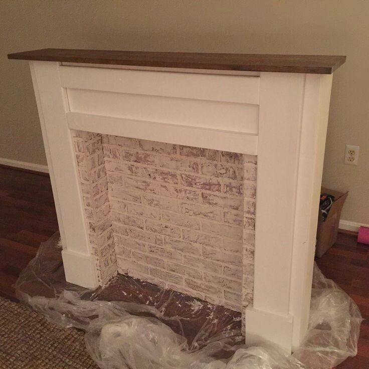 Pin By Madison Ellis On For The Home Faux Fireplace