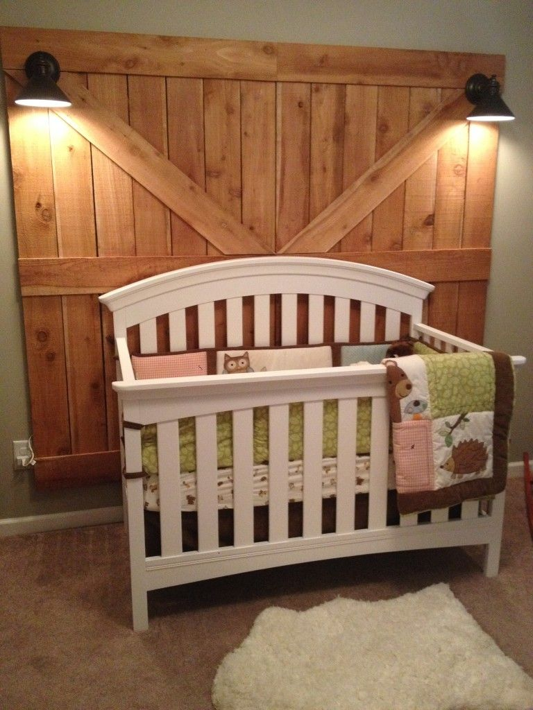 Rustic Woodland Nursery Rustic Rooms Pinterest Nursery