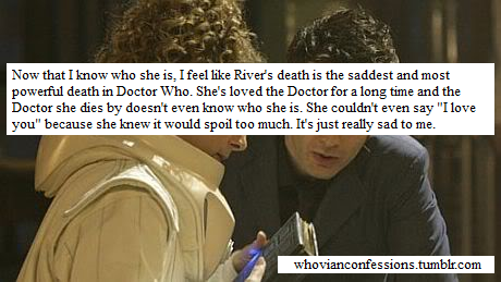 River Song + The Doctor.