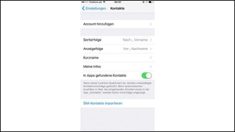 Damit Der Umzug Auf Ein Neues Handy Nicht Zu Viel Arbeit Macht Kopieren Sie Die Kontakte Einfach Auf Die Sim Karte Und Importieren Sim Karte Iphone Ipod Touch