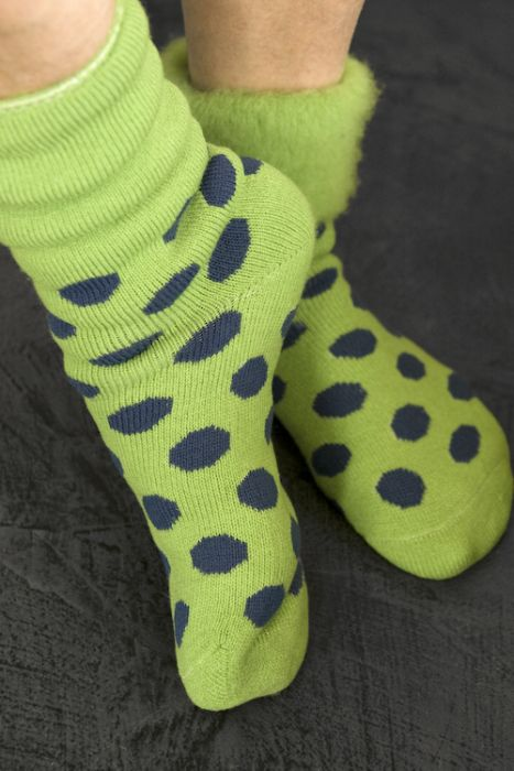New Zealand Bed Socks with Polka Dots in 2020 Bed socks