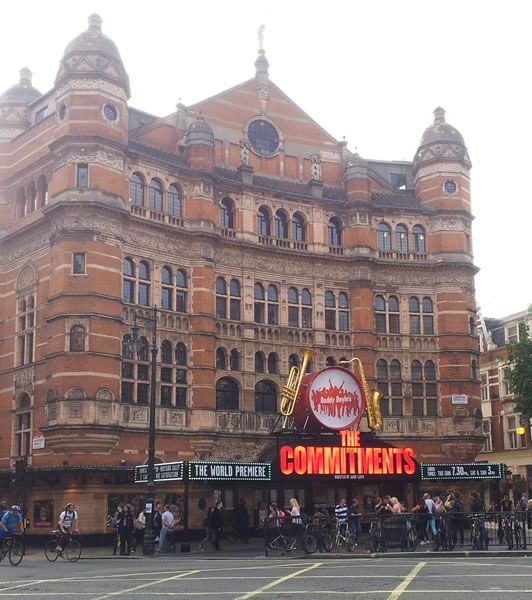 Palace Theatre London Adam Kay Jimmy Carr The Show Must Go