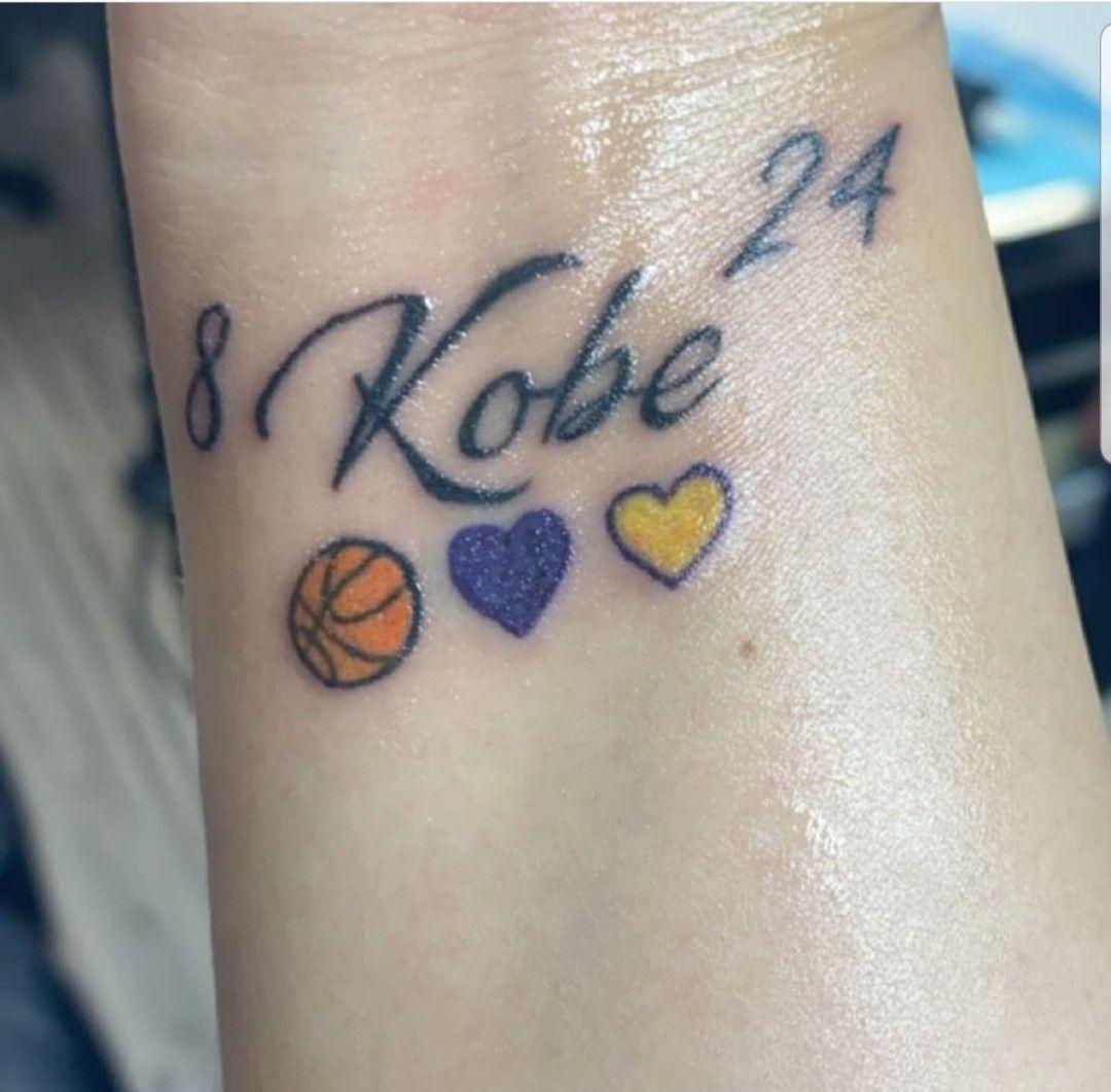 Kobe Bryant Tattoo in 2020 Kobe bryant tattoos, Tattoos