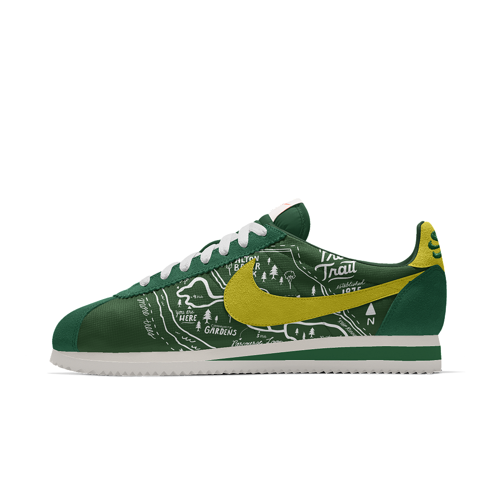 competitive price 95a7e 84524 Nike Cortez Premium iD Men s Shoe Size 10.5 (Green)