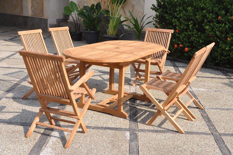 Table De Jardin Teck Massif Outdoor Furniture Sets Outdoor Decor Outdoor Tables