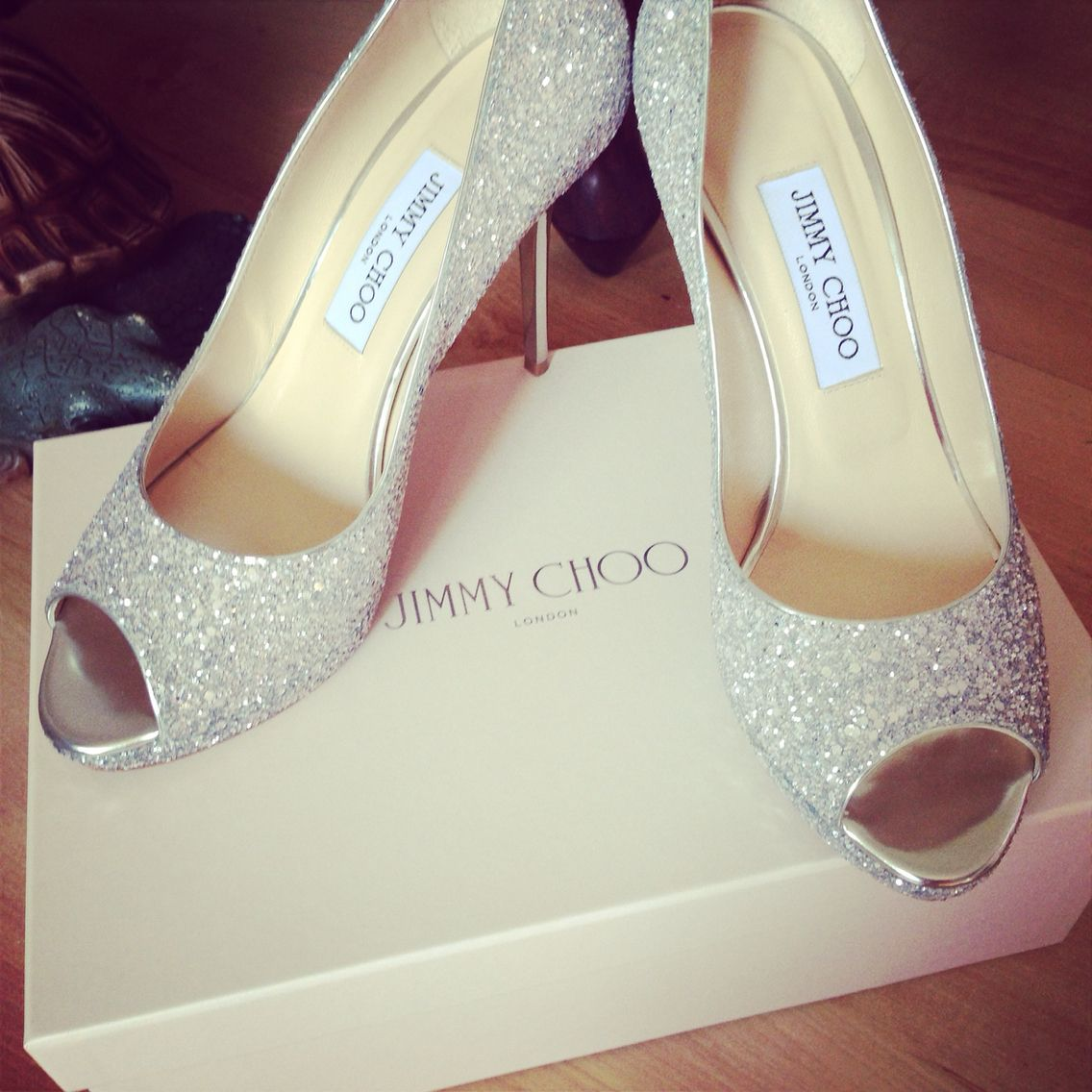 How gorgeous were my wedding shoes!!